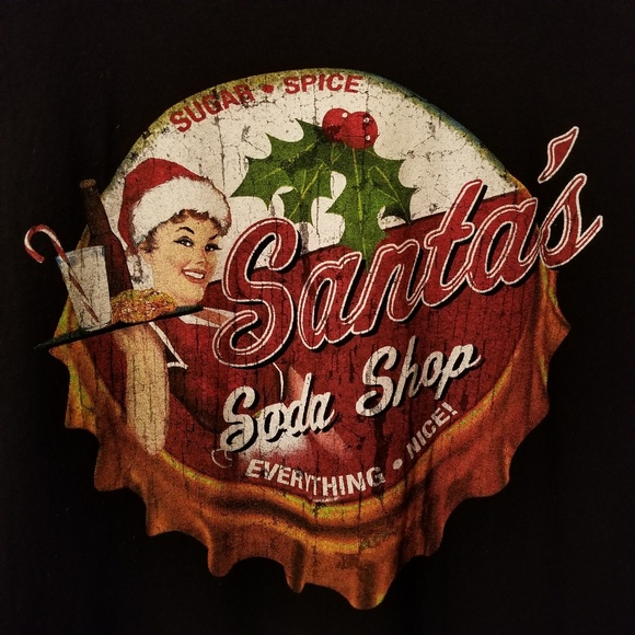 Dec 25 Other - Dec 25 Santa's Soda Shop XL Tee